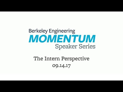 Momentum Speaker Series: The Intern Perspective