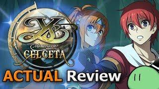 Ys: Memories of Celceta (ACTUAL Game Review) [PC]
