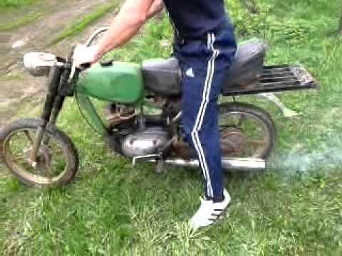 видео: самодельный мотоцикл. ужас
