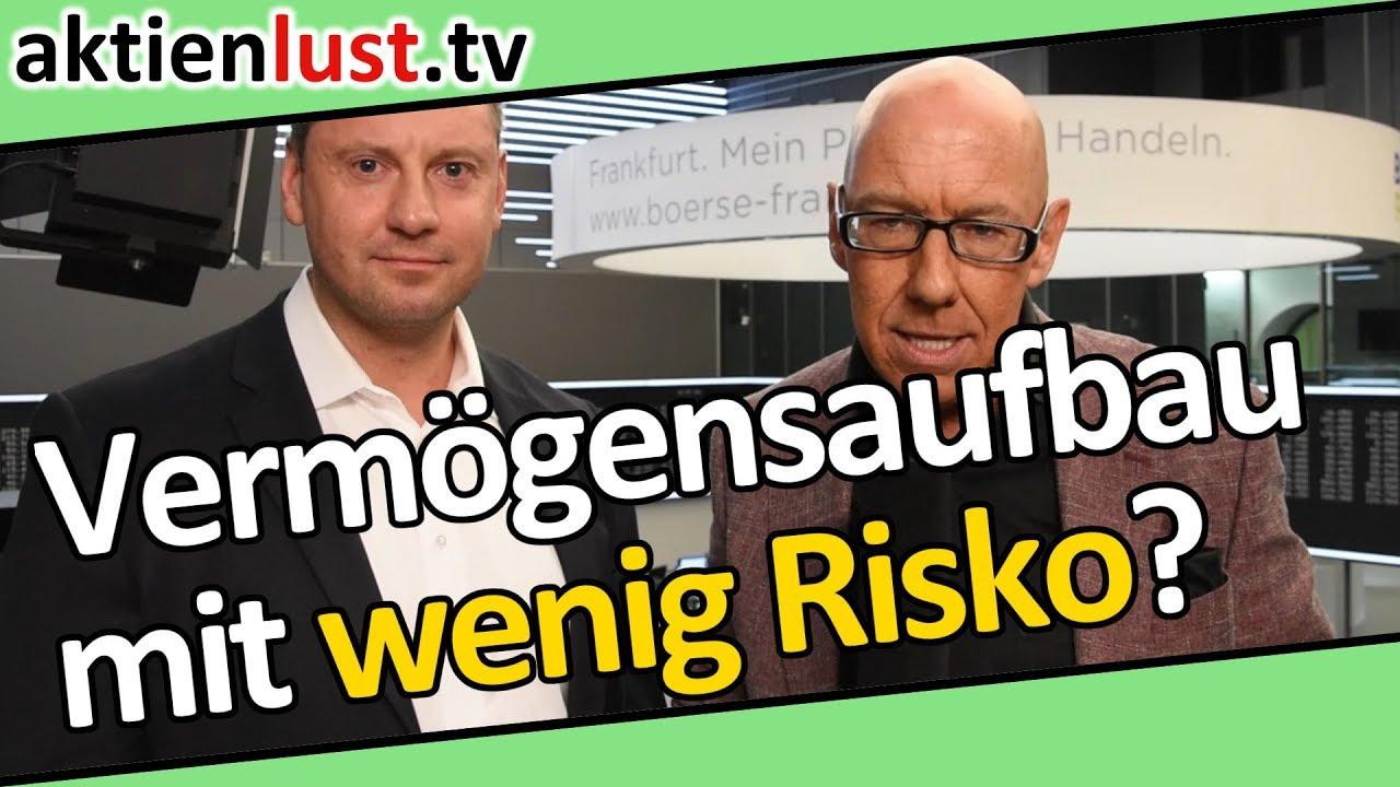 Vermögensaufbau mit wenig Risiko? Christian Wielgus | aktienlust | Mick Knauff
