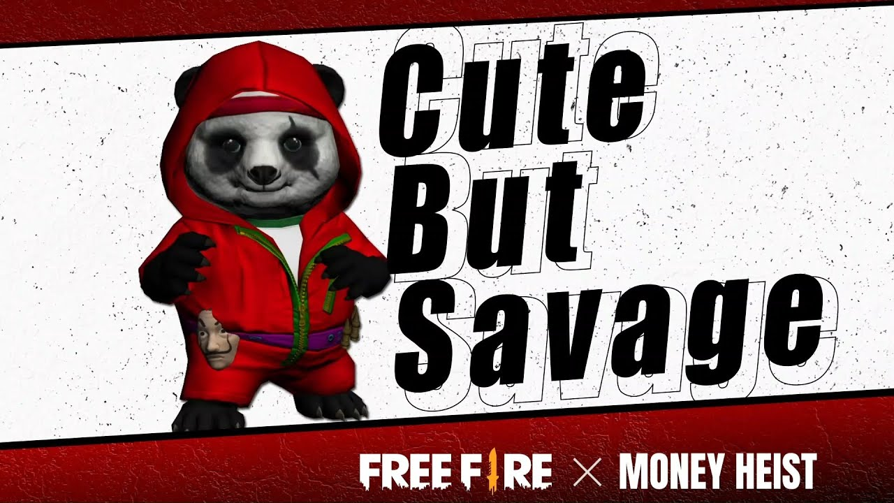 Free Panda Display   Free Fire x Money Heist   Free Fire India Official