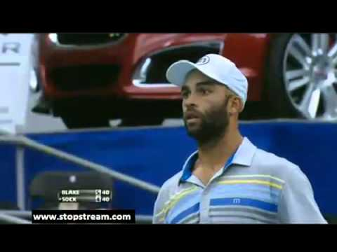 James Blake vs Jack Sock (2013 ATP Memphis)