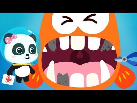 Baby Panda Ocean Doctor - Play Kids Game Rescue Ocean Animals & Learn Marine Animal Fun Baby Games