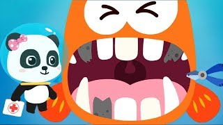 Baby Panda Ocean Doctor - Play Kids Game Rescue Ocean Animals & Learn Marine Animal Fun Baby Games