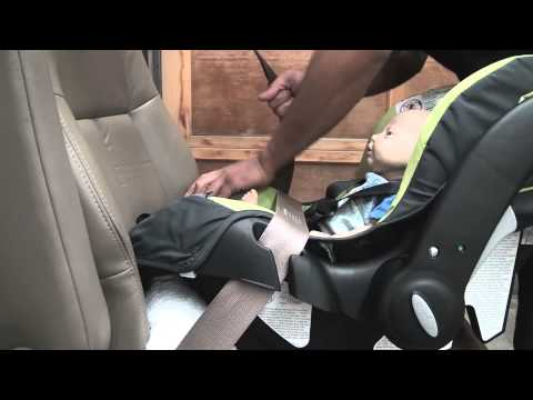Evenflo Embrace: Infant Car Seat Installation Without The Base