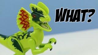 LEGO Jurassic World Dilophosaurus Ambush #75916 Build and Play