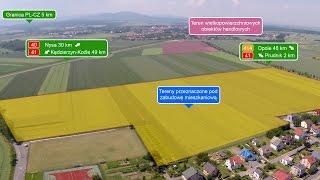 Tereny przeznaczone pod zabudowę mieszkaniową wsi Lubrza | Gmina Lubrza