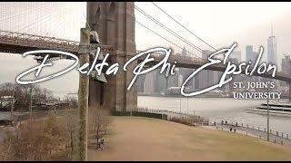 Delta Phi Epsilon - St. John's University - Recruitment Video 2019
