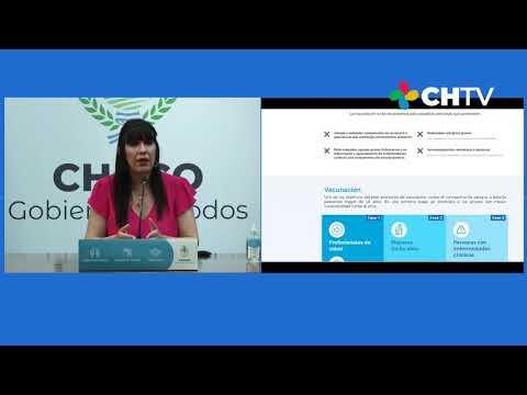 """Lanzamiento de la plataforma """"Elijo Vacunarme"""""""