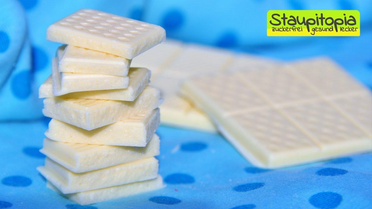 schokolade selber machen 5 minuten 3 zutaten 0 zucker wei e schokolade ohne zucker. Black Bedroom Furniture Sets. Home Design Ideas