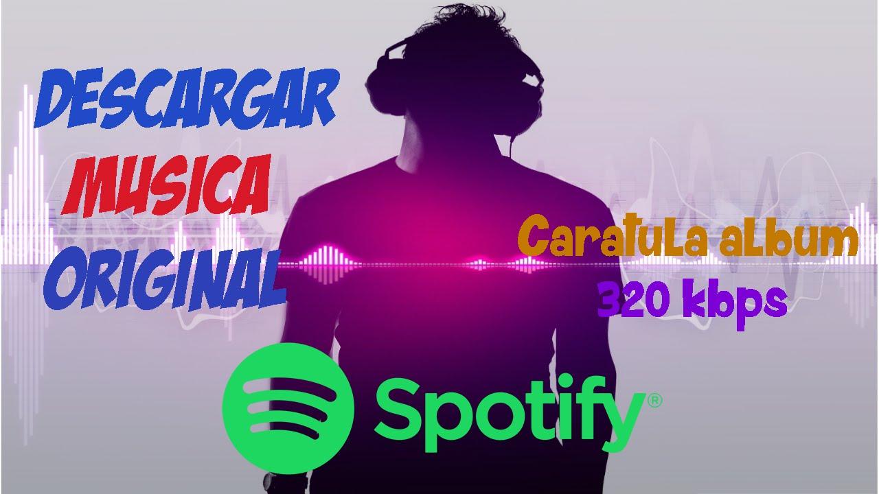 descargar musica original de spotify
