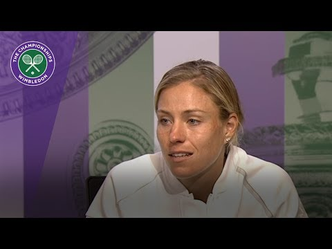 Angelique Kerber Wimbledon 2017 fourth round press conference