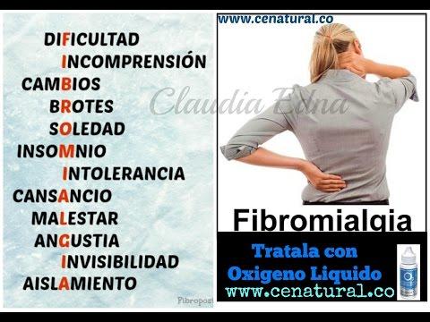 Que es la Fibromialgia TRATAMIENTO NATURAL