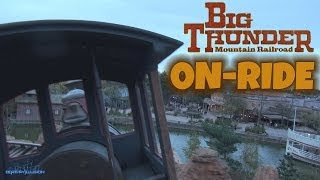 Big Thunder Mountain Railroad Nightvision On-ride Front Seat (HD POV) Disneyland Paris