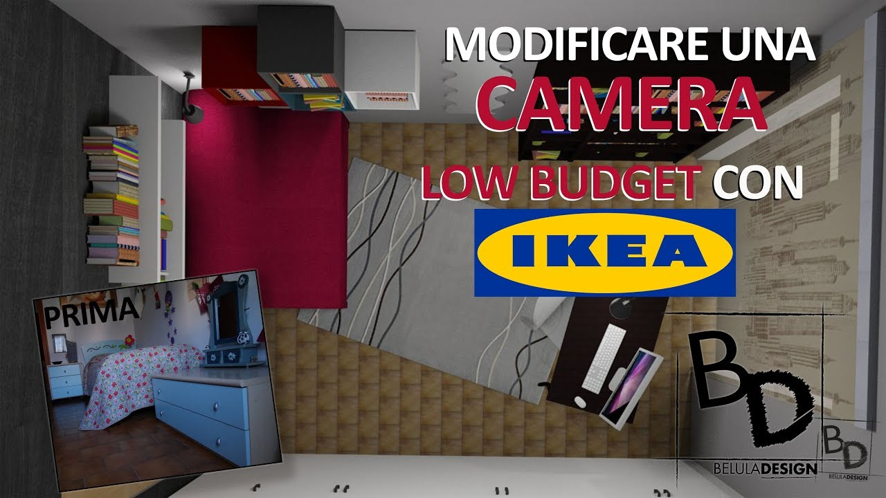 Arredare una camera da letto low budget con ikea belula for Arredare camera da letto con pochi soldi