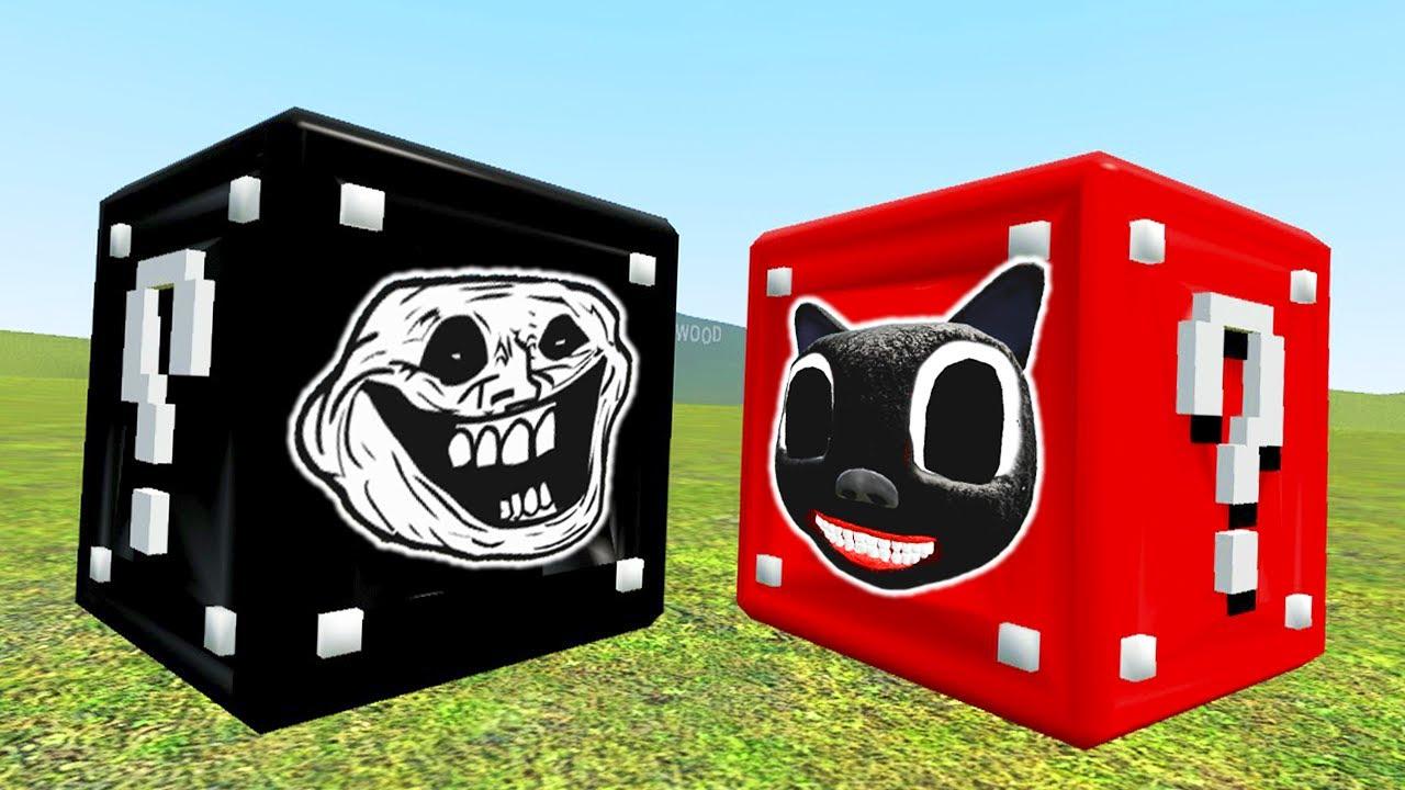 TROLLGE vs TREVOR HENDERSON in Lucky Blocks! (Garry's Mod)