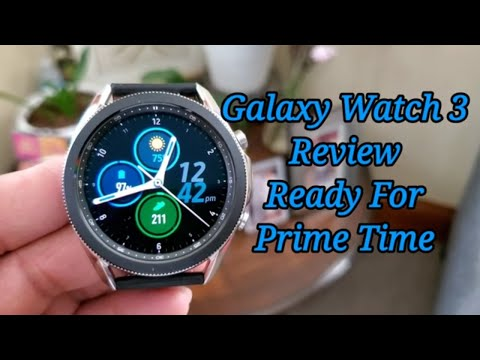 Samsung Galaxy Watch 3 45mm Mystic Silver Review