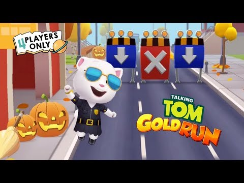 Talking Tom Gold Run | HALLOWEEN Update: Tom's world gets Spooky w/ Agent Angela By Outfit7 Limited