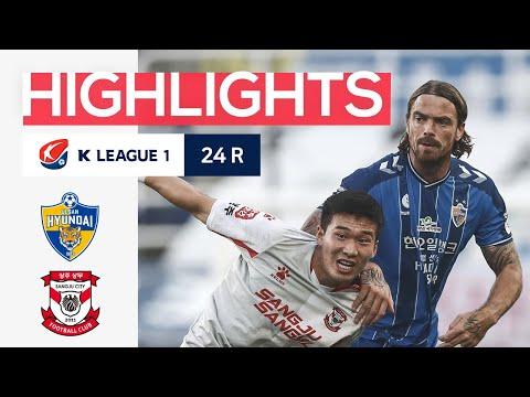 Ulsan Hyundai Sangju Sangmu Goals And Highlights