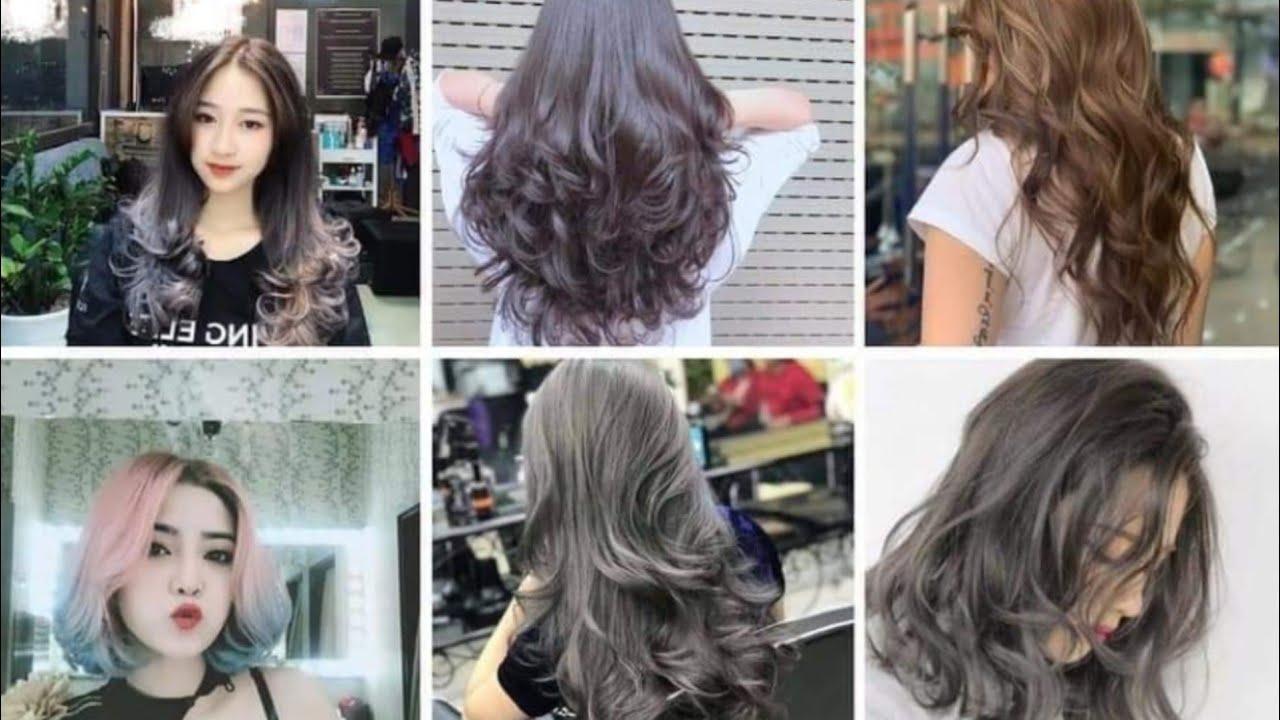 Màu tóc đẹp cho nữ 2020 | nice hair style 2020 | Tổng hợp những nội dung về tóc màu xám khói nữ chính xác