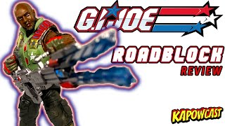 G.I. JOE CLASSIFIED ROADBLOCK REVIEW