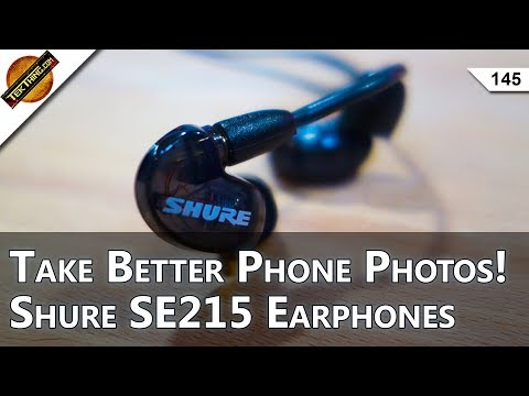 3 Photo Apps For Better Phone Photos! Shure SE215 Earphone R