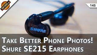 3 Photo Apps For Better Phone Photos! Shure SE215 Earphone Review, Best Wire Cutter For Makers!