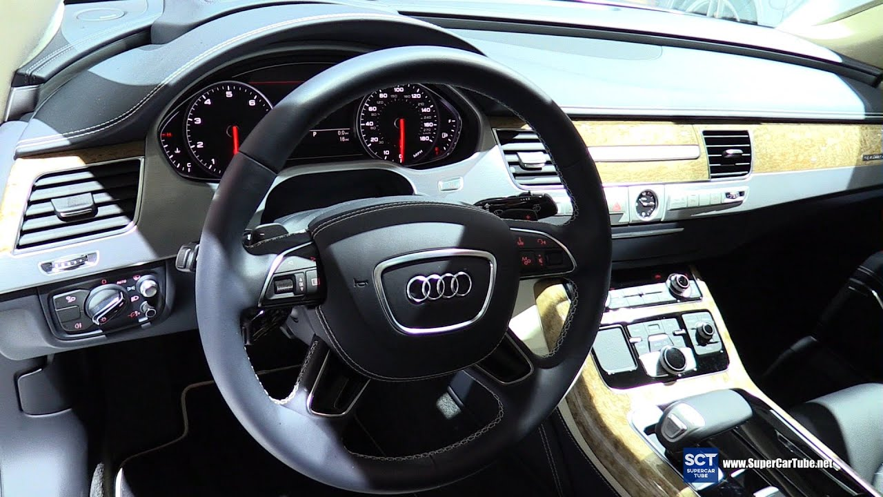 2016 Audi A8 L W12 Exlusive Interior Walkaround 2015