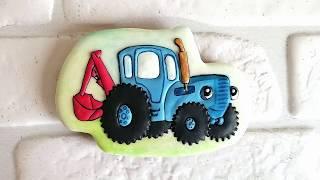 Пряник Синий трактор