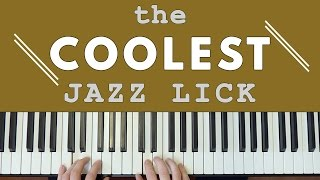 The COOLEST Jazz Lick