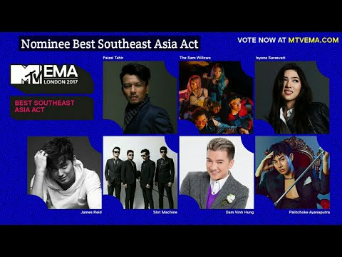 Nominee of Best Southeast Asia Act - MTV EMA 2017