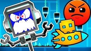 GEOMETRY DASH - IM A RAGING ROBOT! ► Fandroid GAME
