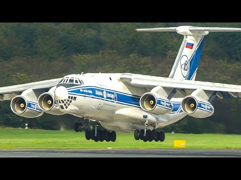 "ILYUSHIN IL-76 LANDING + Departure - ""The Vodka Burner"" (4K)"