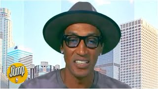 Scottie Pippen says the road to an NBA title is 'easier' in the bubble | The Jump