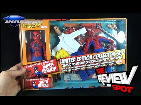 Toy Spot – Diamond Select Toys Marvel Spider-Man 8″ Inch Mego Retro Action Figure Set