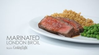 How To Make Marinated London Broil | Myrecipes