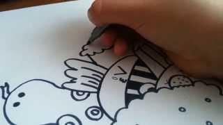 10000 Abone İçin Çizimim (Doodle) | LPSEM miniş