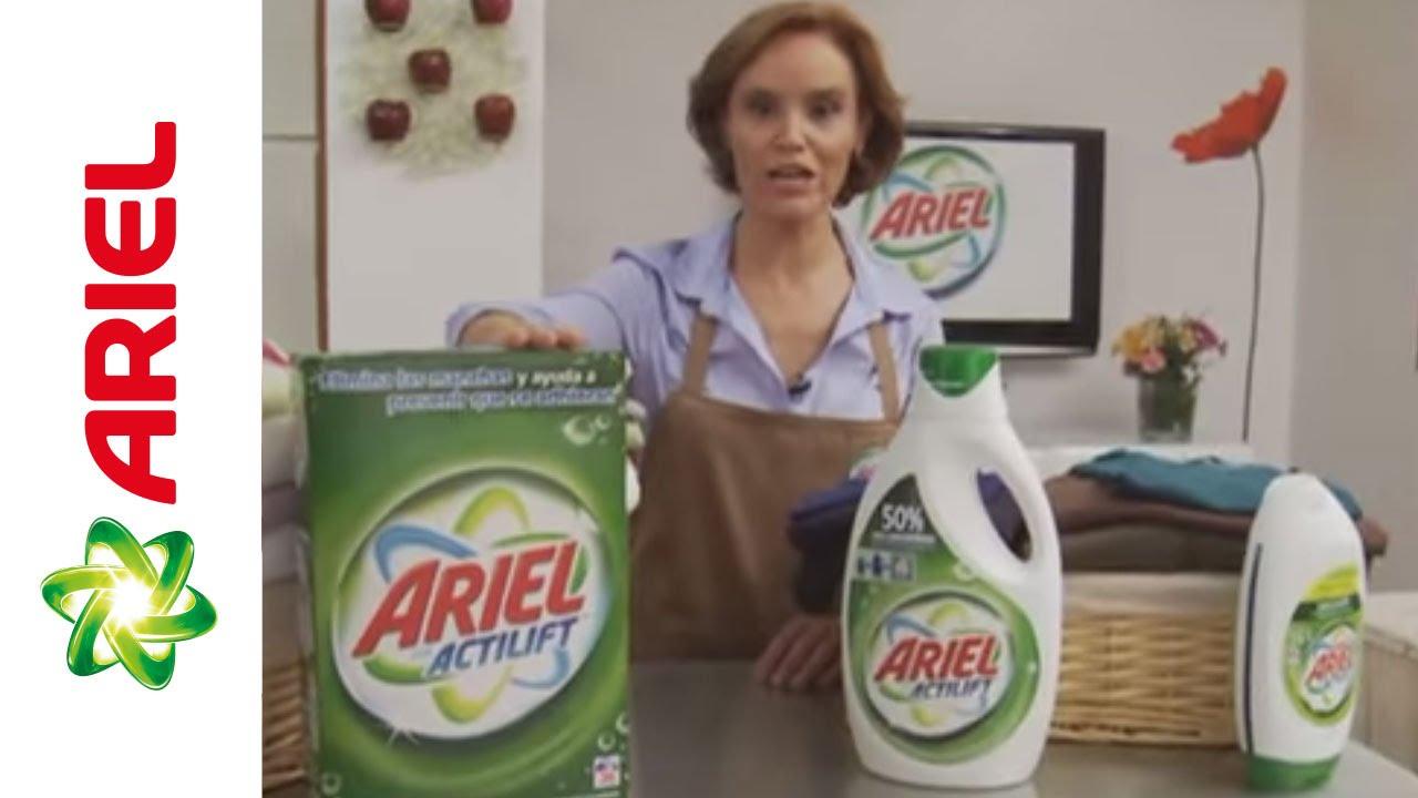 Trucos para lavar la ropa tipos de detergente ariel for Cual es el mejor detergente para lavadora