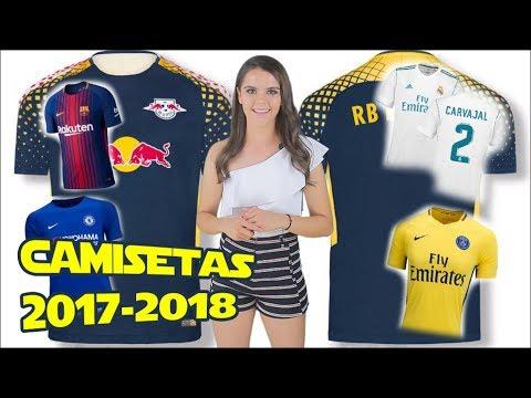 Las NUEVAS CAMISETAS temporada 2017-2018