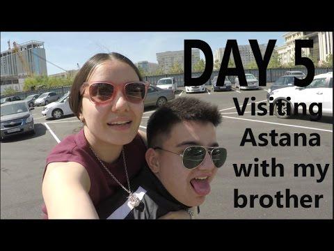 30 Days in Kazakhstan Vlog Day 5 (Visiting Astana the Capital)
