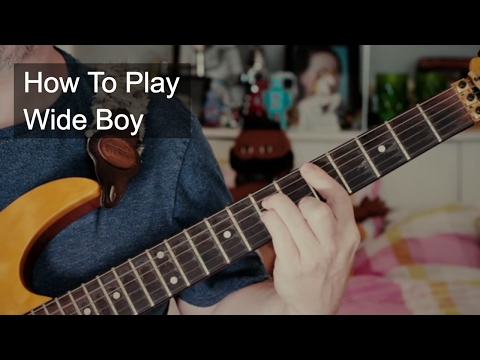 Nik Kershaw - Wide Boy Guitar Tutorial Including Solo