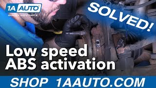 SOLVED Low speed ABS activation Chevy Trucks
