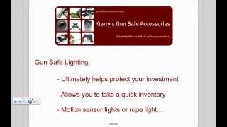 Gun Safe Accessories Guide - A Complete Overview
