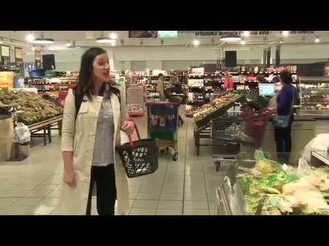 OPERSKO IZNENAĐENJE U MERKATORU - Opera flash mob in supermarket Merkator, Serbia