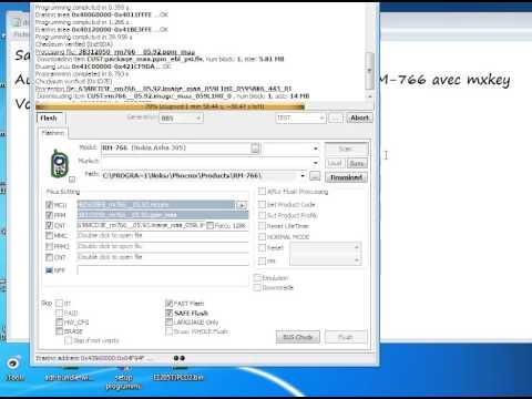 Firmware Nokia Asha 305 RM 766 avec mxkey