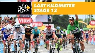 Tour de France 2018 etappe 13: laatste kilometer