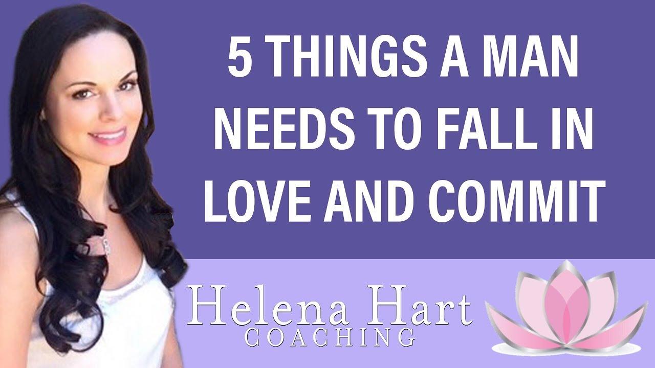How do men actually fall in love