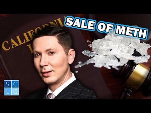 Health & Safety Code 11379 - Sale of Methamphetamine