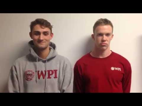 WPI Swimming & Diving Post-Meet Interview - David Smallwood and Andrew Kelleher