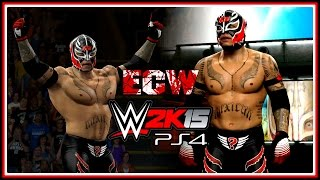 WWE 2K15 PS4/XB1 : Rey Mysterio - ECW One Night Stand Attire (2006) - Superstar Studio